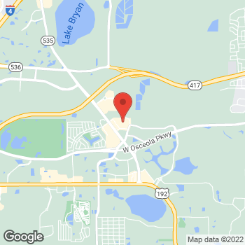 Map of Hair Cuttery at 3225 Vineland Road, Kissimmee, FL 34746