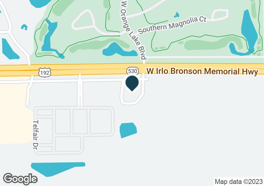Google Map of8400 W IRLO BRONSON MEMORIAL HWY