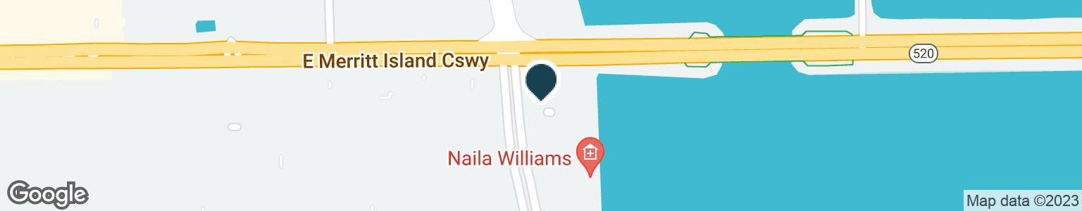 Google Map of90 S SYKES CREEK PKWY
