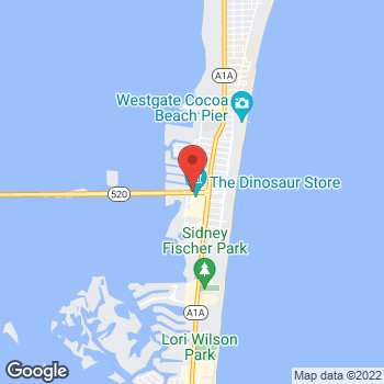 Map of Mark Callenberger, DO at 333 West Cocoa Beach Causeway, Cocoa Beach, FL 32931
