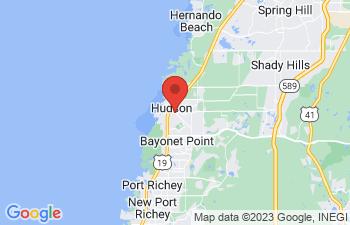 Map of Hudson