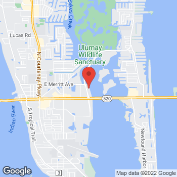 Map of Robert Sedaros, MD at 220 N. Sykes Creek Parkway, Merritt Island, FL 32952