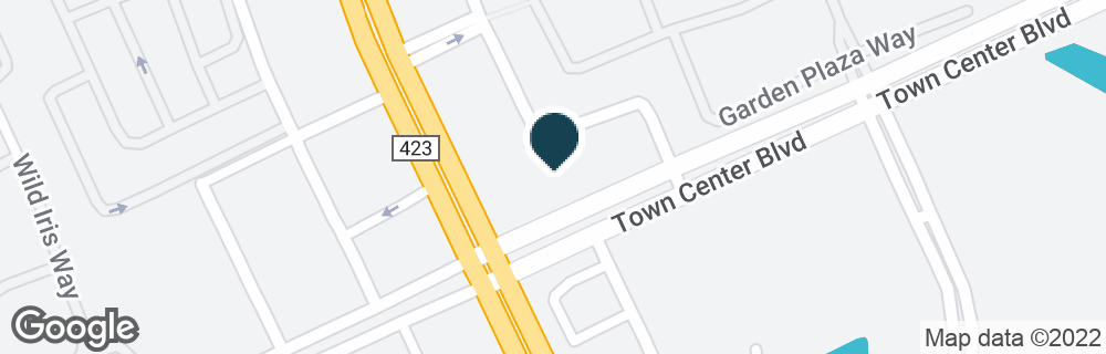 Google Map of13880 TOWNE PLACE BLVD