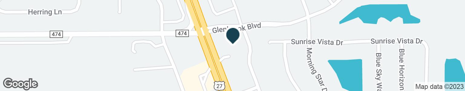 Google Map of1600  HIGHWAY 27