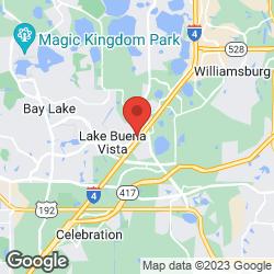 Hilton Orlando Lake Buena Vista on the map