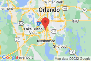 Map of Florida Central Orlando Area