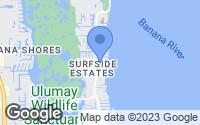 Map of Merritt Island, FL
