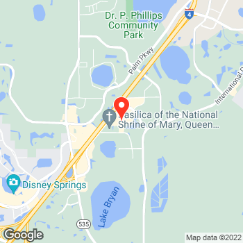 Map of Ann Taylor Factory Store at 15825 Apopka Rd, Orlando, FL 32821