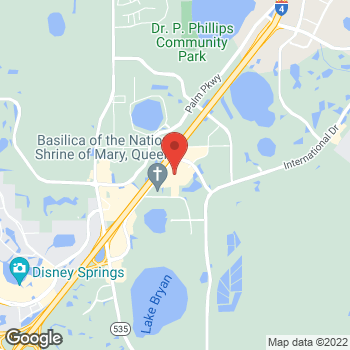 Map of 8200 Vineland Ave in Orlando