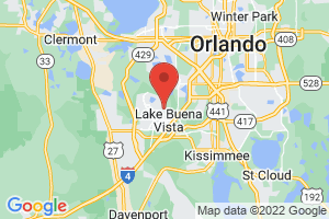 Map of Lake Buena Vista