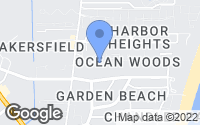 Map of Cape Canaveral, FL