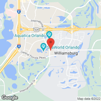 Map of Panera Bread at 10739 International Drive, Orlando, FL 32821
