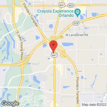 Map of Sprint at 9350 S Orange Blossom Trail, Orlando, FL 32837