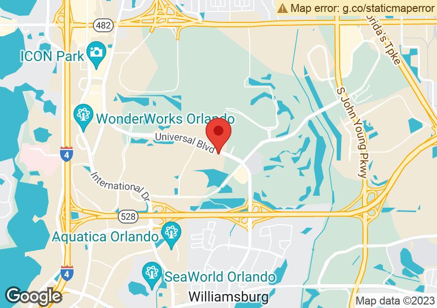 Google Map of 9650 UNIVERSAL BLVD