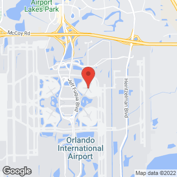 Map of 9202 Jeff Fuqua Blvd in Orlando