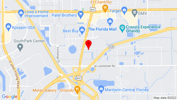 Google Map of 1300 La Quinta Drive, Orlando, FL 32809