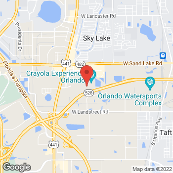 Map of Sunglass Hut at Macy's at 8001 S Orange Blossom Trl, Orlando, FL 32809