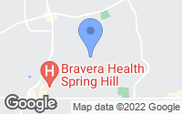 Map of Spring Hill, FL