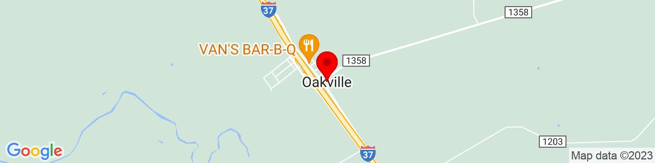Google Map of 28.4491617, -98.1019498