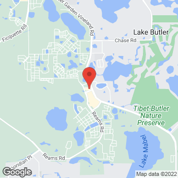 Map of Panera Bread at 6537 Old Brick Rd, Windermere, Florida 34786