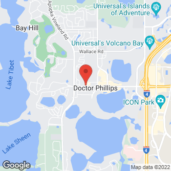 Map of Fifth Third Mortgage - Julie Sutphin at 8075 Via Dellagio Way, Orlando, FL 32819