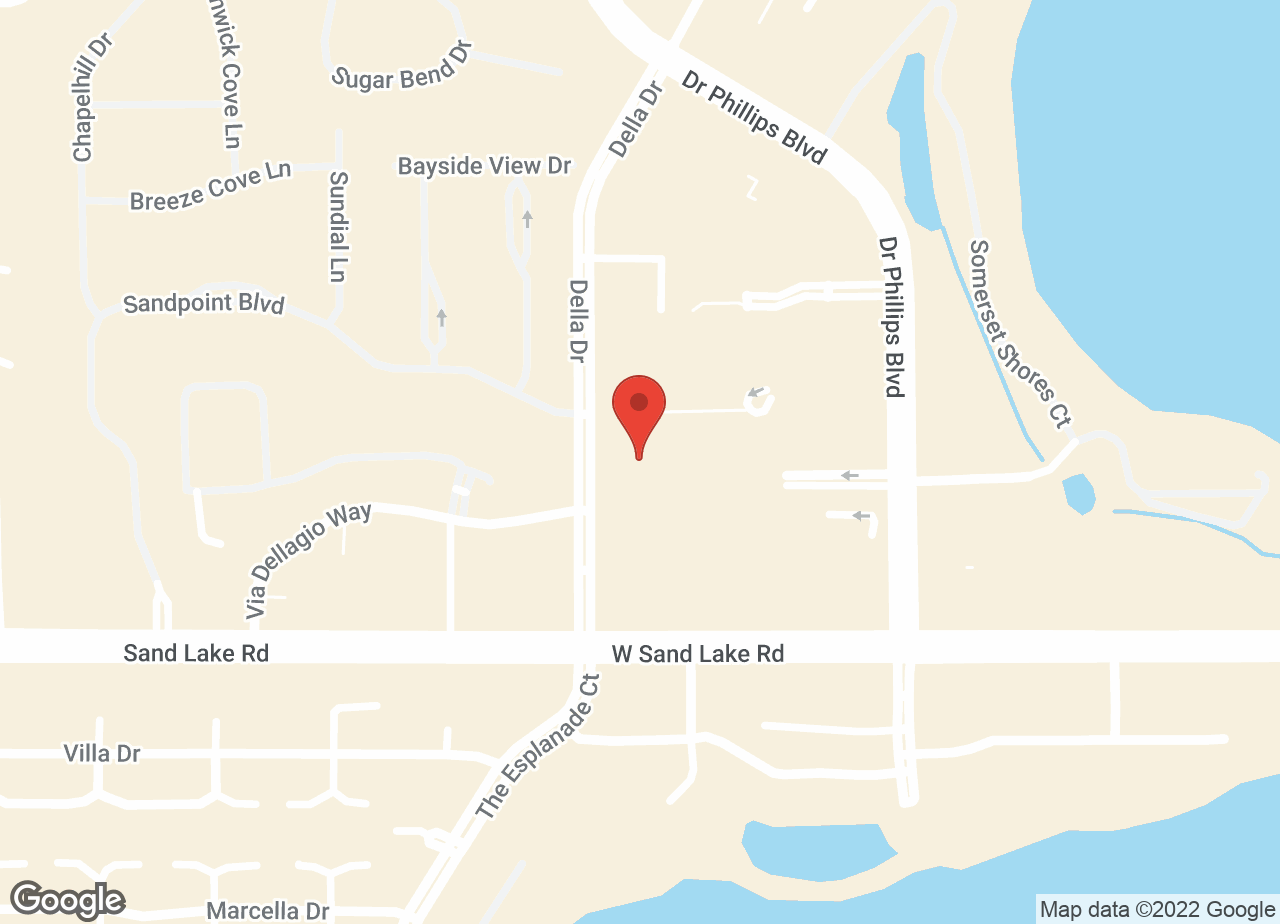 Google Map of VCA Bay Hill Cat Hospital