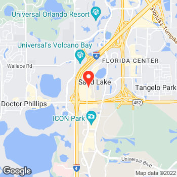 Map of Pizza in Orlando, FL – Cicis Pizza at 7437 International Dr, Orlando, FL 32819