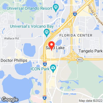 Map of Pizza en Orlando, FL – Cicis Pizza at 7437 International Dr, Orlando, FL 32819