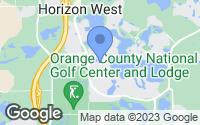 Map of Winter Garden, FL