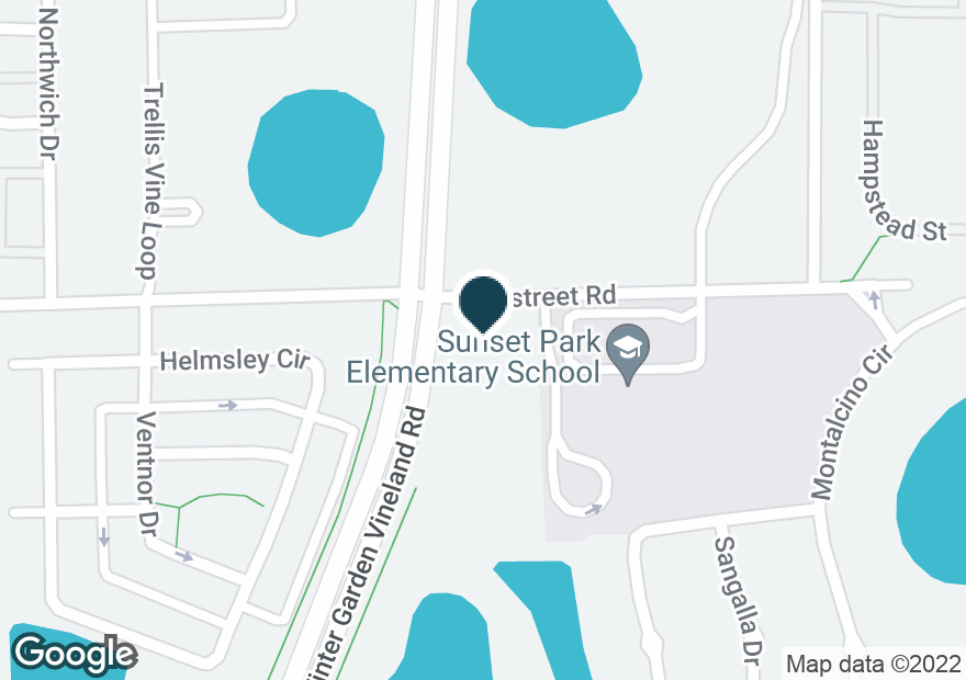 Google Map of7301 STATE ROAD 535