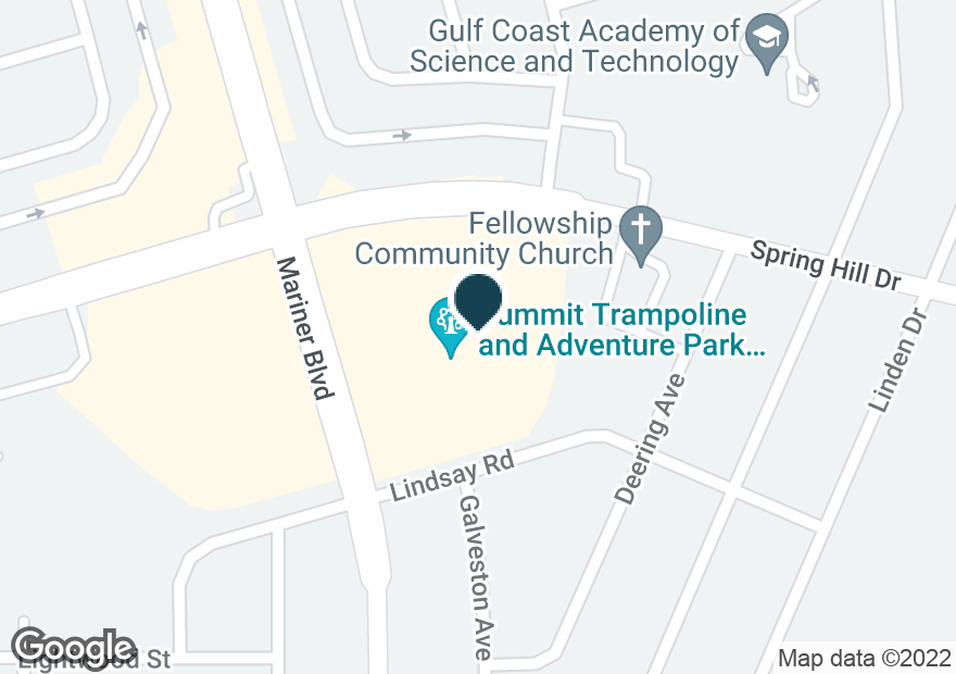 Google Map of11180 SPRING HILL DR