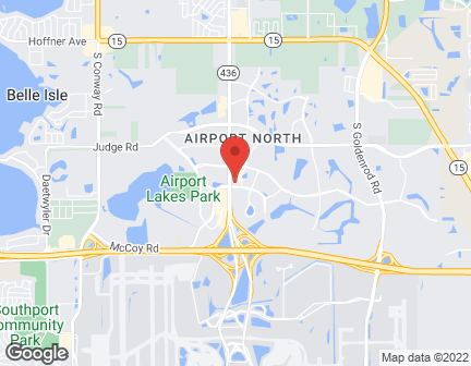 Map of 5725 Tg Lee Blvd in Orlando