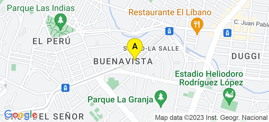 situacion en el mapa de . Direccion: Avenida Islas Canarias, 38007 Santa Cruz de Tenerife. Santa Cruz de Tenerife