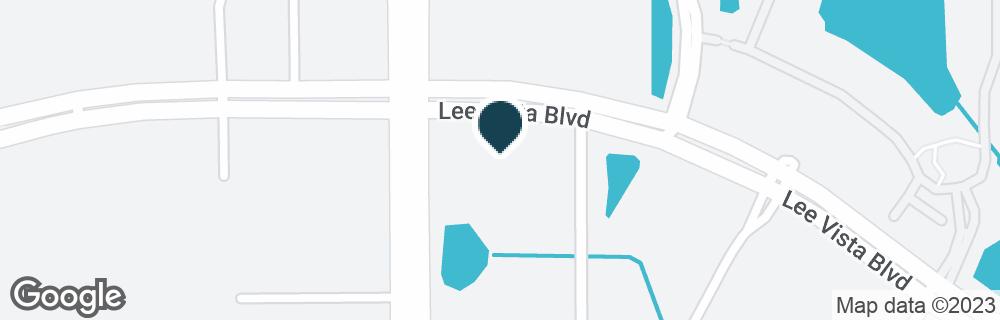 Google Map of5702 LEE VISTA BLVD