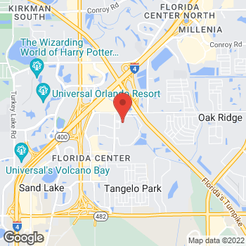 Map of Bass Pro Shops at 5156 International Dr, Orlando, FL 32819
