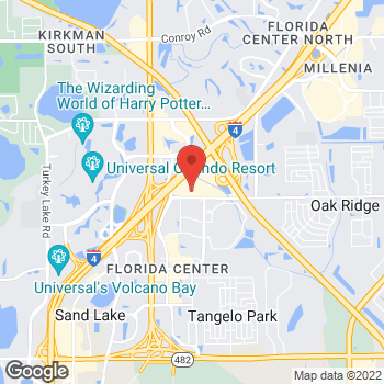 Map of location-map at 4959 International Dr, Orlando, FL 32819
