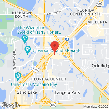 Map of location-map at 4953 International Dr, Orlando, FL 32819