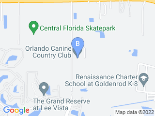 Map of Orlando Canine Country Club Dog Boarding options in Orlando | Boarding