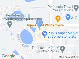Map of Big Paw Pet Care Dog Boarding options in Windermere | Boarding