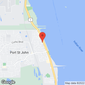 Map of Ravindran Palaniyandi, MD at 7139 North US Highway 1, Port St. John, FL 32927