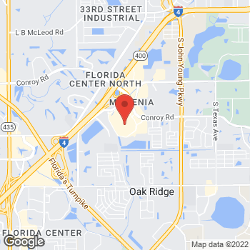 Map of Salvatore Ferragamo at 4200 Conroy Rd Suite #P277, Orlando, FL 32839