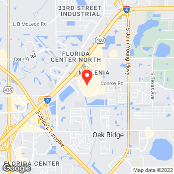 Map of Ann Taylor at 4200 Conroy Road, Orlando, FL 32839