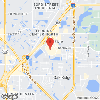 Map of BCBGMAXAZRIA at 4200 Conroy Road, Orlando, FL 32839