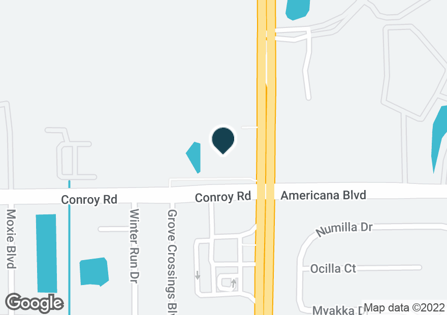 Google Map of5280 S JOHN YOUNG PKWY