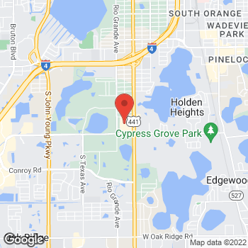 Map of Citi Trends at 4622 S Ornge Blossm Trail, Orlando, FL 32839