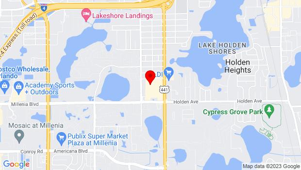 Google Map of 4600 South Orange Blossom Trail, Orlando, FL 32839