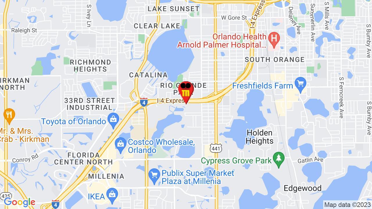 Google Map of Orlando Commercial Pest Control