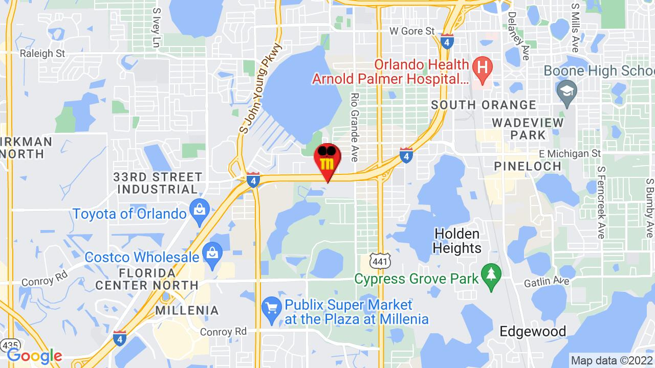 Google Map of Orlando Commercial Pest Control