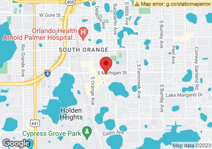 Google Map of 408 E MICHIGAN ST