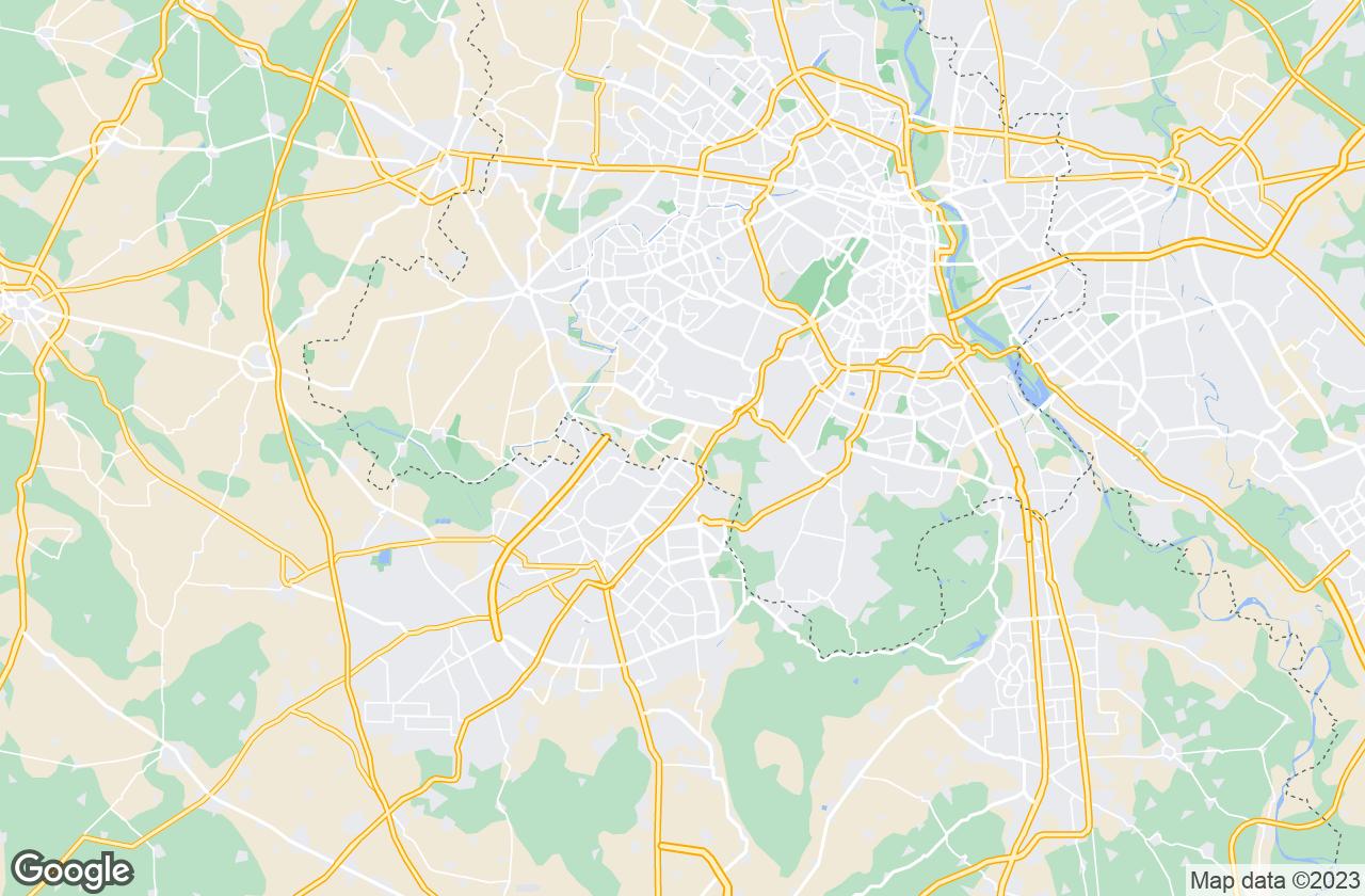 Google Map of Kapashera